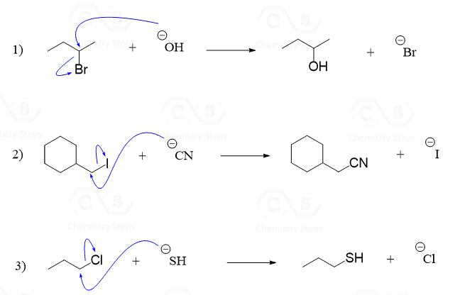 The Sn2 Mechanism In Nucleophilic Substitution Reactions
