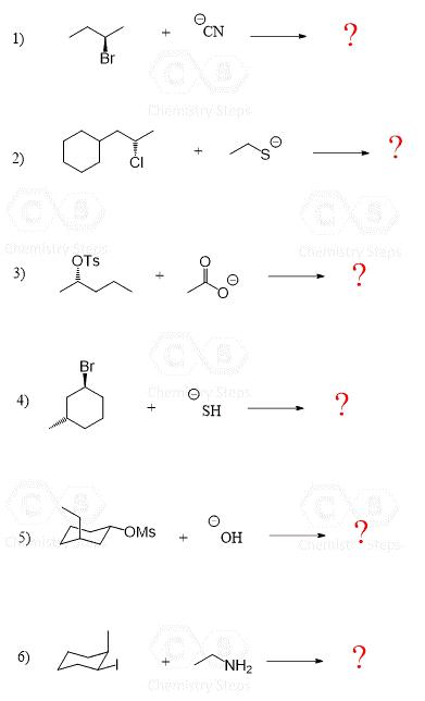 The SN2 Mechanism: Energy Diagram, Mechanism and Stereochemisy