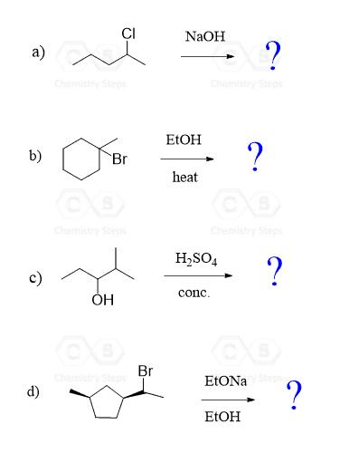 E2 vs  E1 Elimination Mechanism with Practice Problems - Chemistry Steps