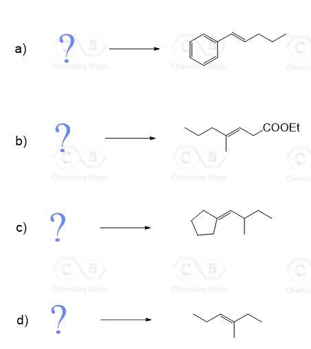 Wittig Reaction With Practice Problems