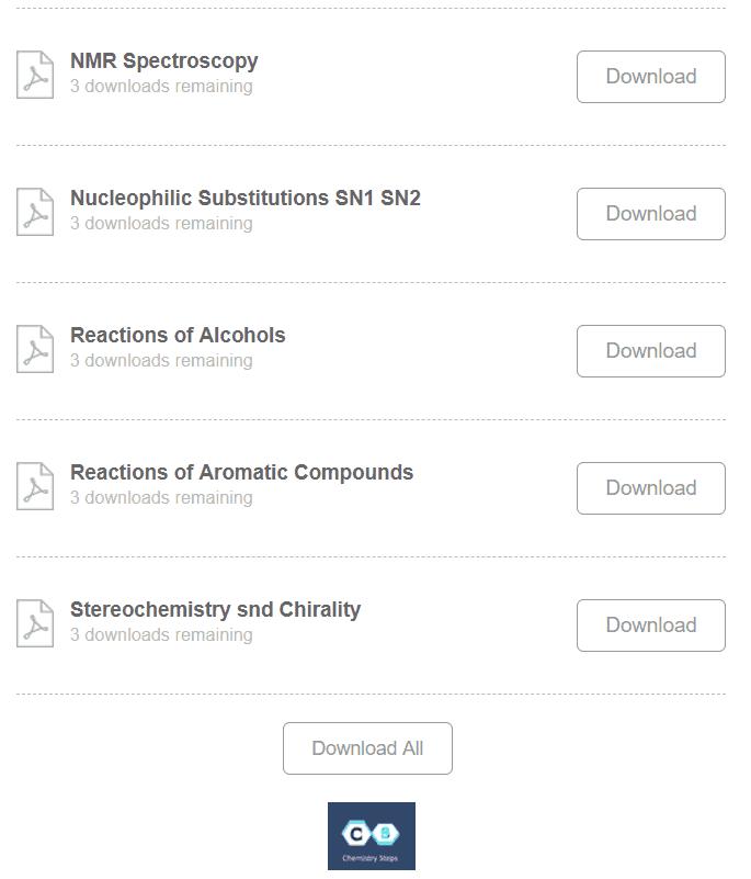 Organic Chemistry Summary Sheet Study Guides - Chemistry Steps